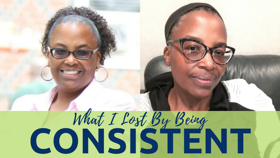 What I lost by being consistent…