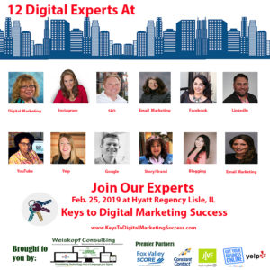 Keys to digital marketing success event