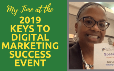 My Time at the 2019 Keys to Digital Marketing Success Event